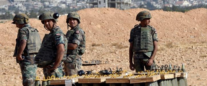 الجيش اللبناني يعتقل خمسة مسلحين في طرابلس شمال لبنان