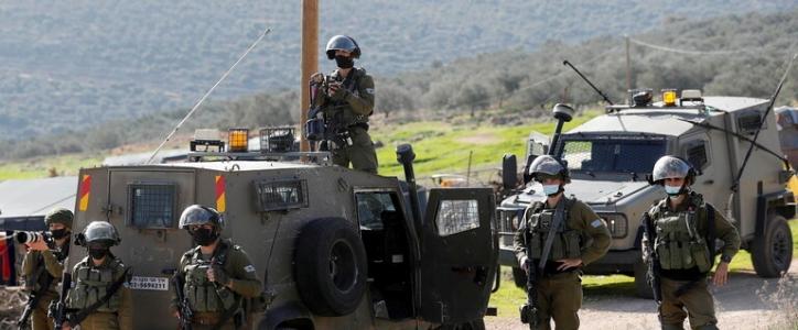 مستوطنون يعتدون على أراضي الفلسطينيين غرب بيت لحم