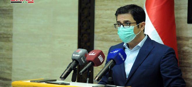وزير الصحة: نحن الآن في وضع تسطح منحنى الإصابات ضمن الموجة الثالثة لفيروس كورونا